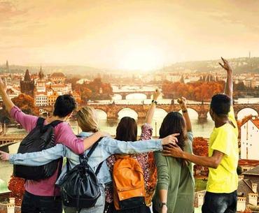 Золотая осень в сказочной Праге!